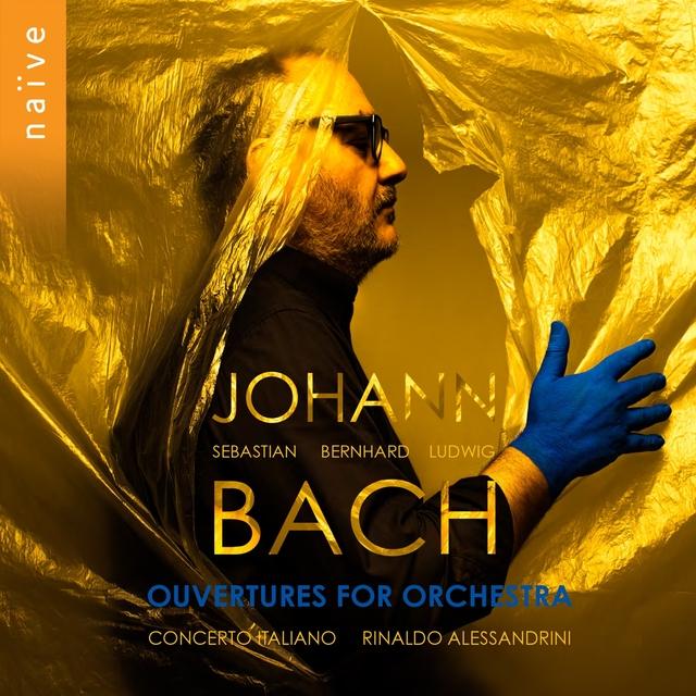 Couverture de Bach: Ouvertures for Orchestra