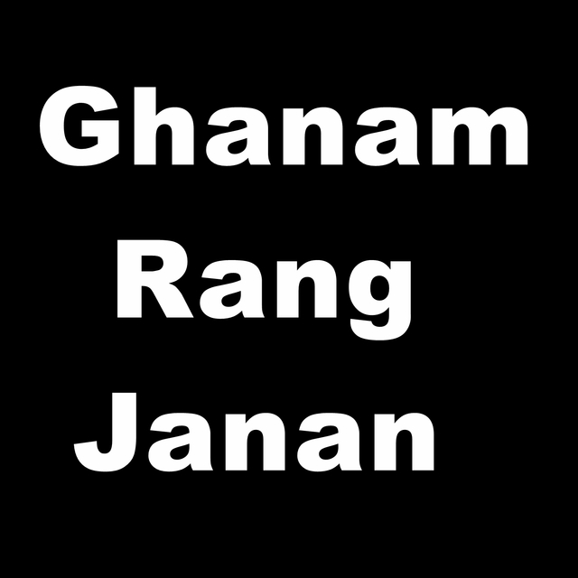 Ghanam Rang Janan