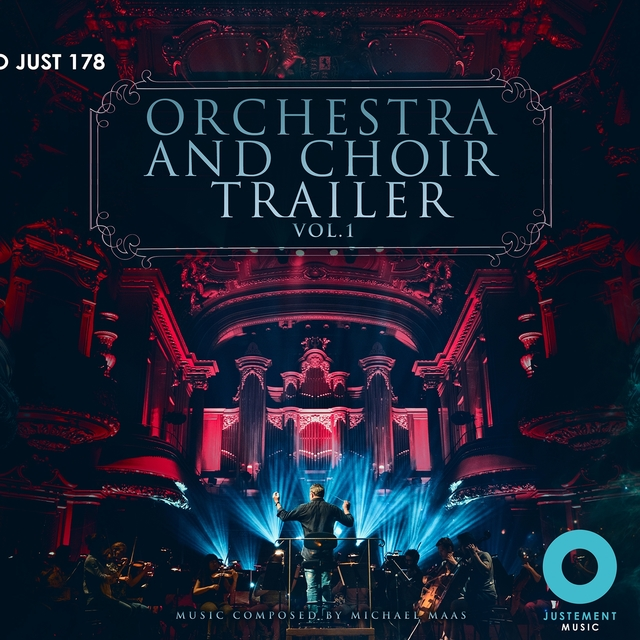 Couverture de Orchestra & Choir Trailer, Vol. 1