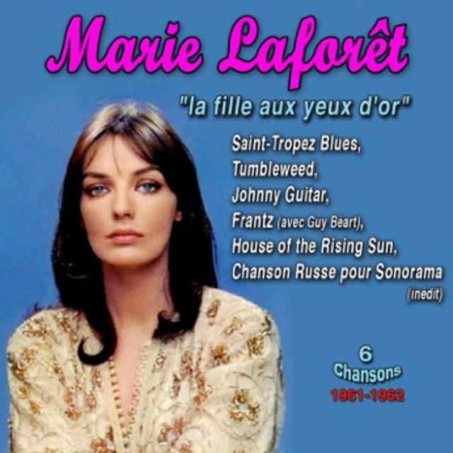 """Couverture de Marie Laforêt - 1960-1962 - """"La Fille Aux Yeux D'or"""""""
