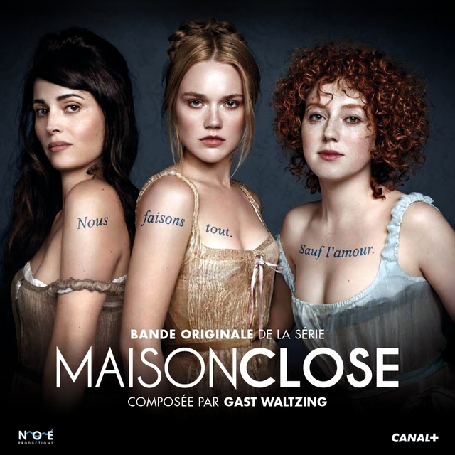Couverture de Maison close