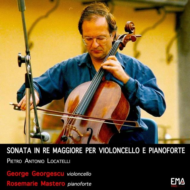 Sonata in Re Maggiore per Violoncello e Pianoforte di Pietro Locatelli