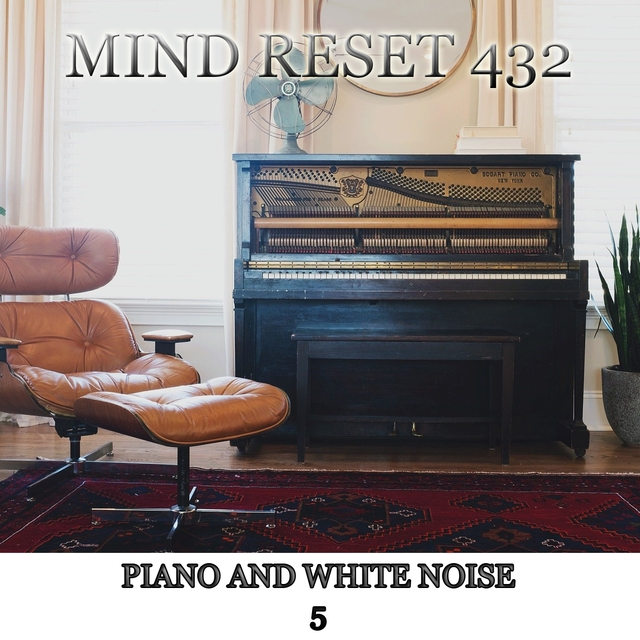 Piano and white noise