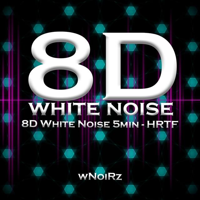 8D White Noise 5min - HRTF