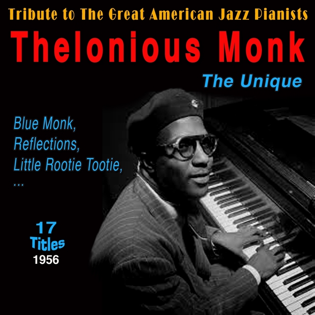 Couverture de Tribute to the Great American Jazz Pianists - Thelonious Monk