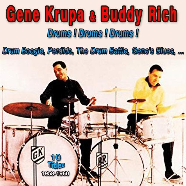 Gene Krupa & Buddy Rich - 1958-1960