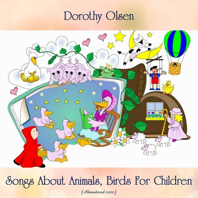 Couverture de Songs About Animals, Birds For Children