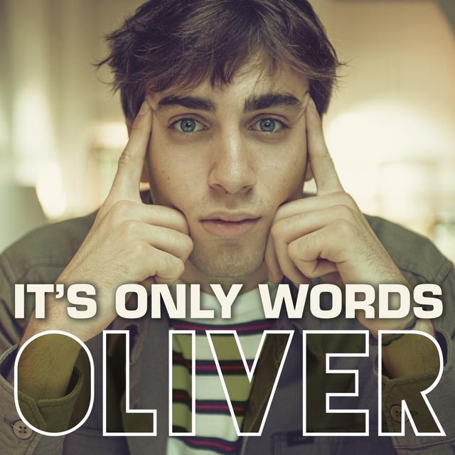 Couverture de It's only words