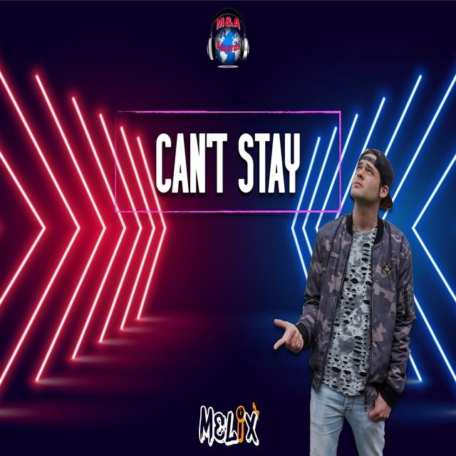 Couverture de Can't stay