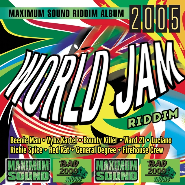 Couverture de World Jam Riddim