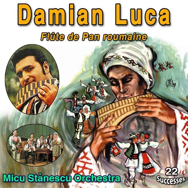 Couverture de Damian Luca - Flûte de Pan Roumaine