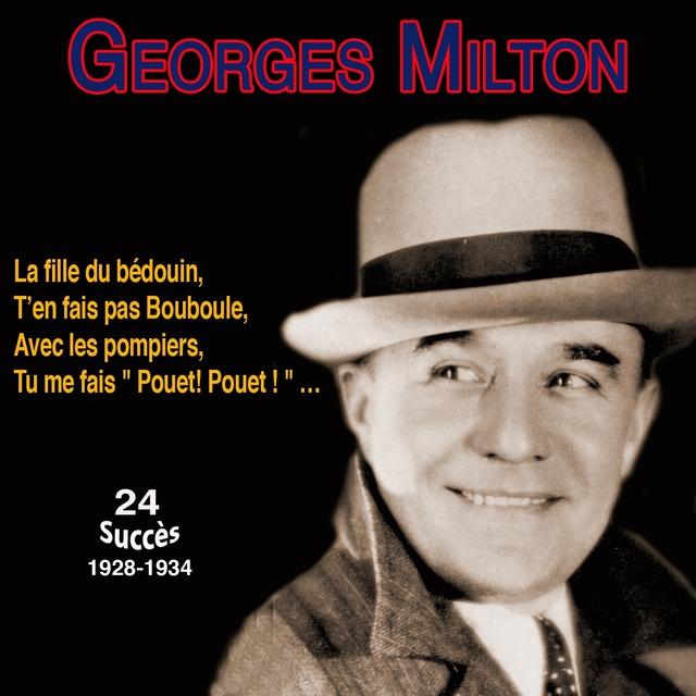 Couverture de Georges milton - la fille du bédouin