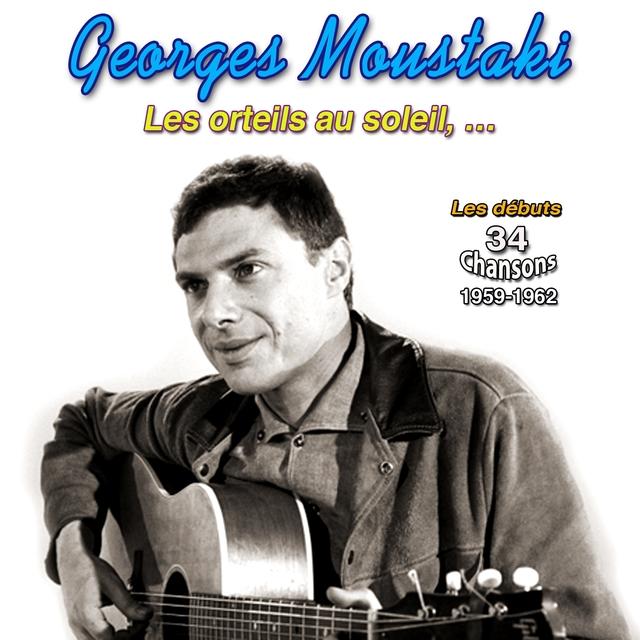 Couverture de Georges moustaki (34 chansons 1959-1962)