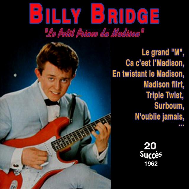 """Couverture de Billy bridge """"Le Petit prince du madison"""" - Le grand """"M"""""""