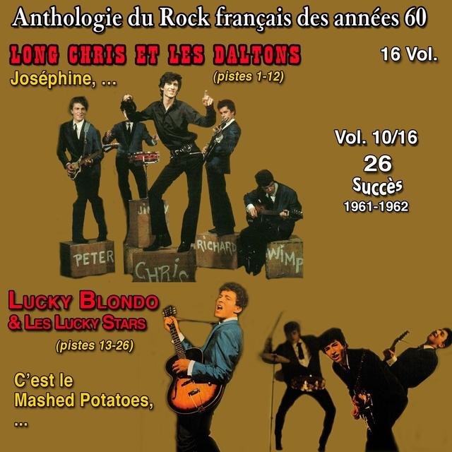 Couverture de Anthologie des groupes de rock français des années 1960 - 16 Vol. - Vol. 10 / 16