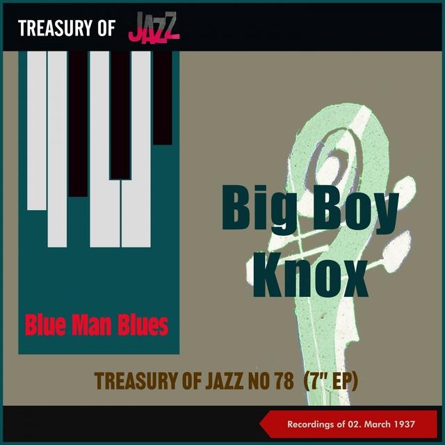Blue Man Blues - Treasury of Jazz No. 78
