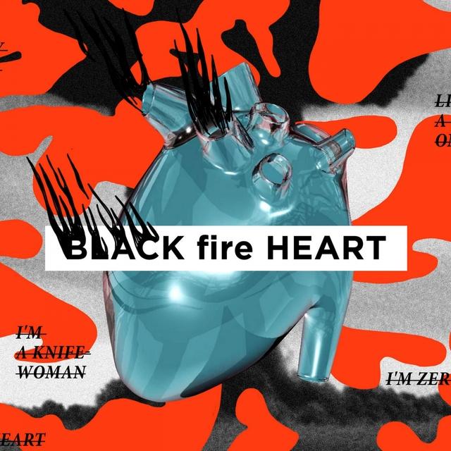 Black Fire Heart