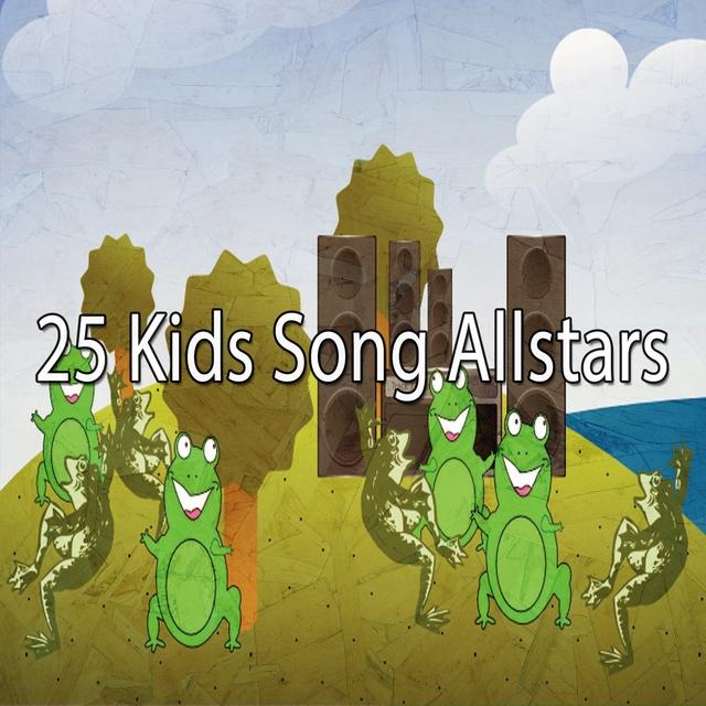Couverture de 25 Kids Song Allstars