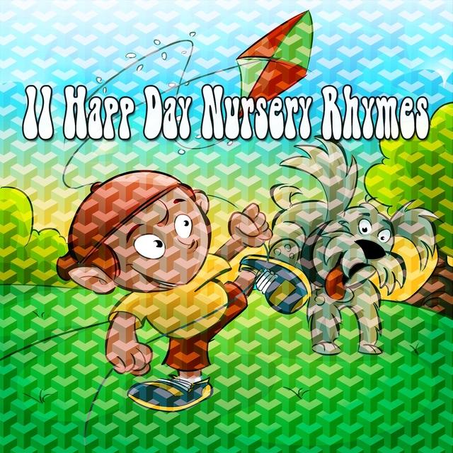 Couverture de 11 Happ Day Nursery Rhymes