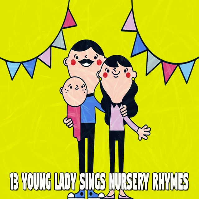 Couverture de 13 Young Lady Sings Nursery Rhymes