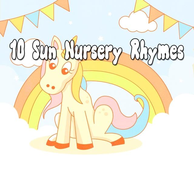 Couverture de 10 Sun Nursery Rhymes