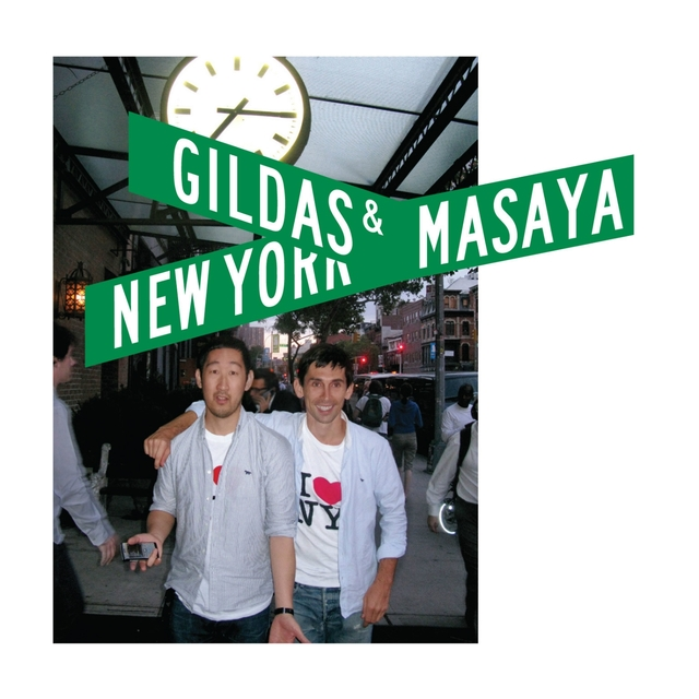 Couverture de Kitsuné: Gildas & Masaya - New York