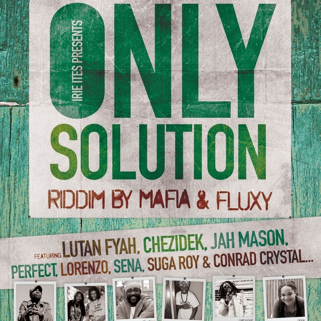 Couverture de Only Solution Riddim