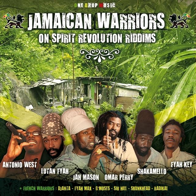 Couverture de Jamaican Warriors