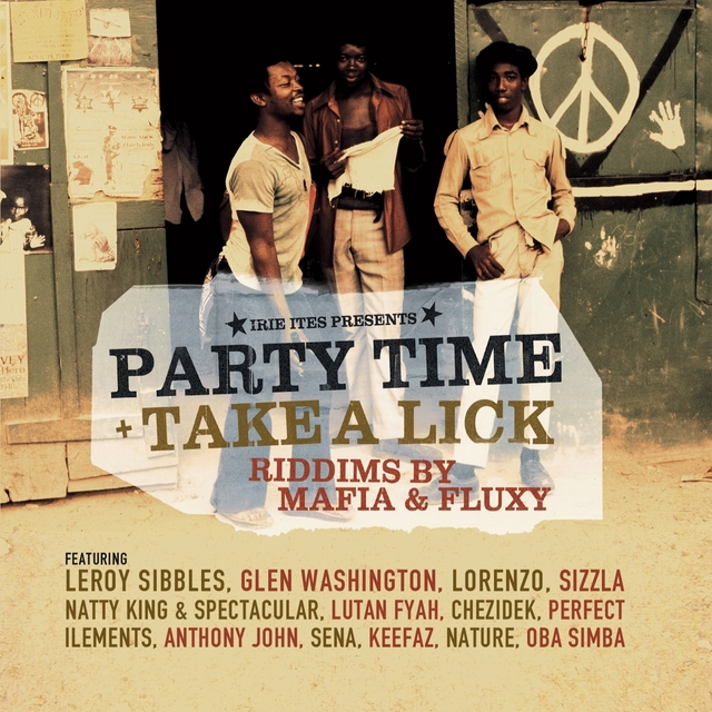 Couverture de Party Time (Take a Lick)