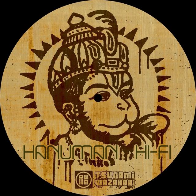 Couverture de Hanuman Hi-fi