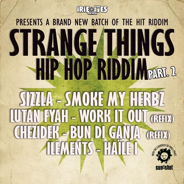 Couverture de Strange Things Hip Hop