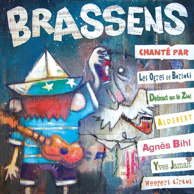 Couverture de Brassens chanté par