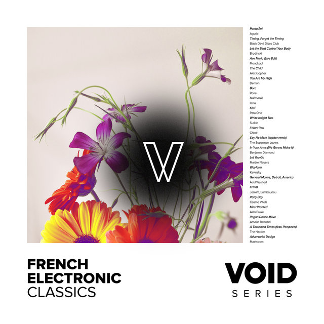 Couverture de VOID: French Electronic Classics