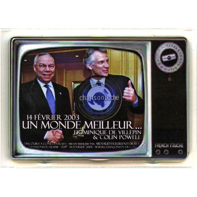 Couverture de Un monde meilleur... (14 février 2003, discours à l'ONU) [Extraits] - Single