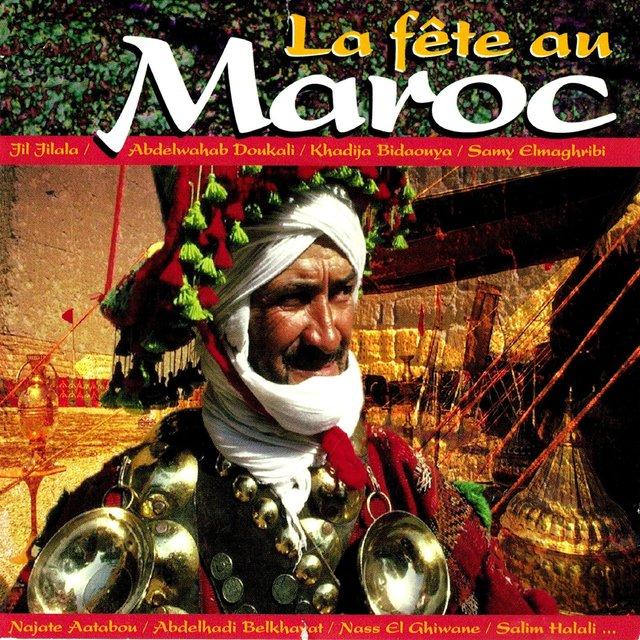 Couverture de La fête au Maroc