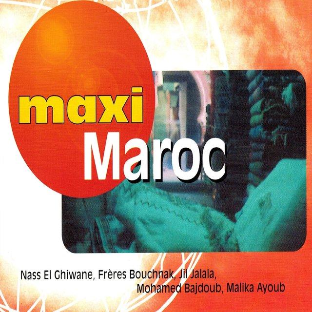 Couverture de Maxi Maroc