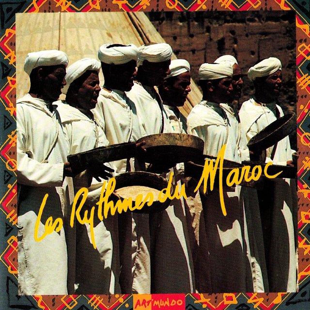 Couverture de Les rythmes du Maroc
