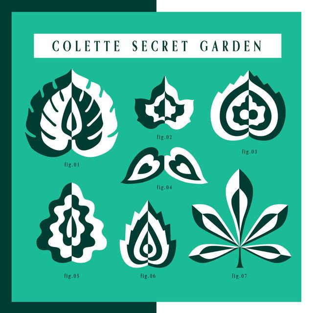 Couverture de colette secret garden