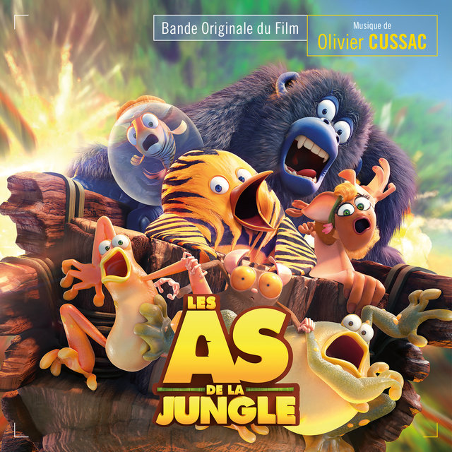 Les as de la jungle (Bande originale du film)