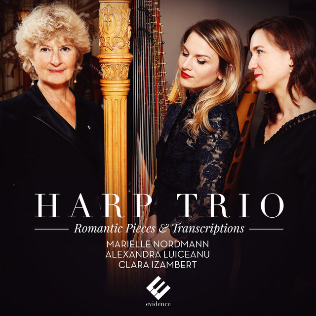 Couverture de Harp Trio: Romantic Pieces & Transcriptions