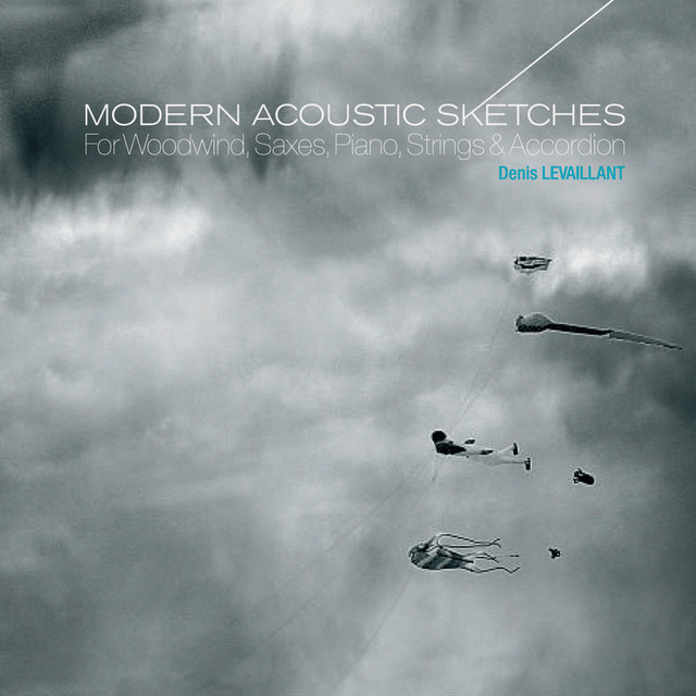 Couverture de Modern Acoustic Sketches - For Woodwind, Saxes, Piano, Strings & Accordion