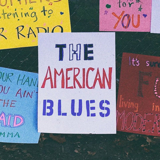 Couverture de The American Blues