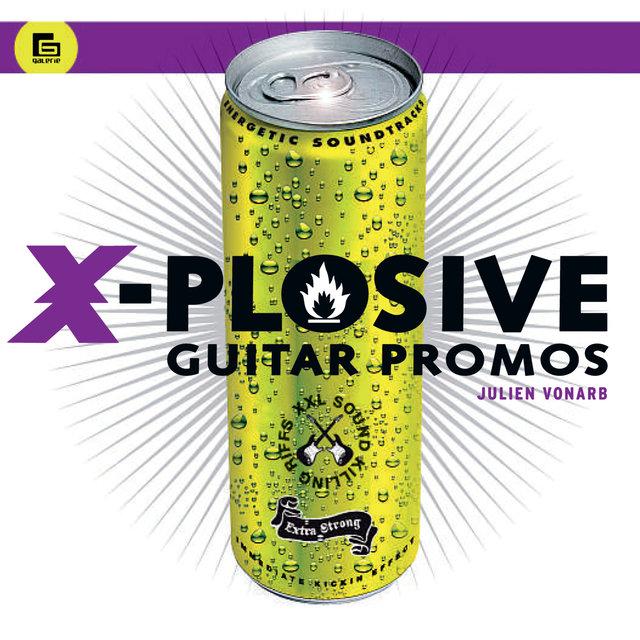 Couverture de X-Plosive Guitar Promos