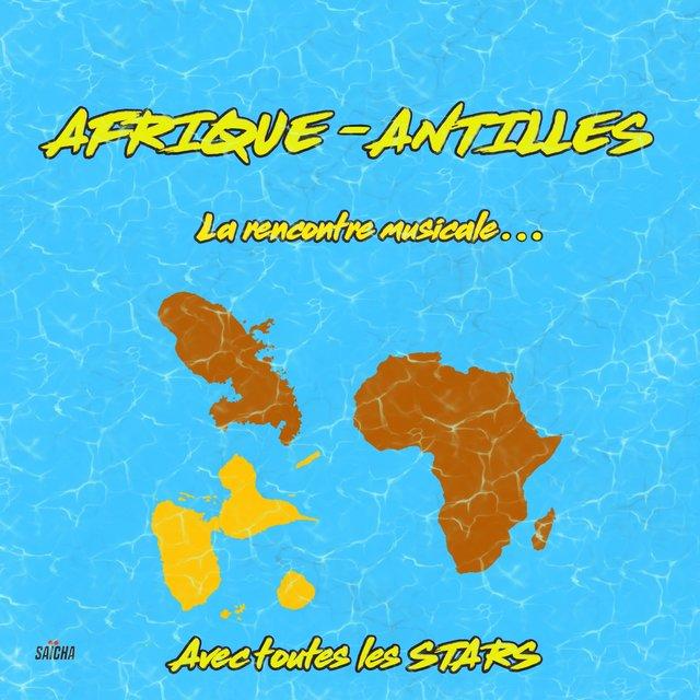 Couverture de Afrique - Antilles : La rencontre musicale avec toutes les stars