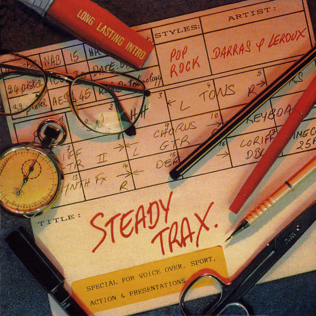 Steady Trax: Special for Voice Over, Sport, Action & Presentations