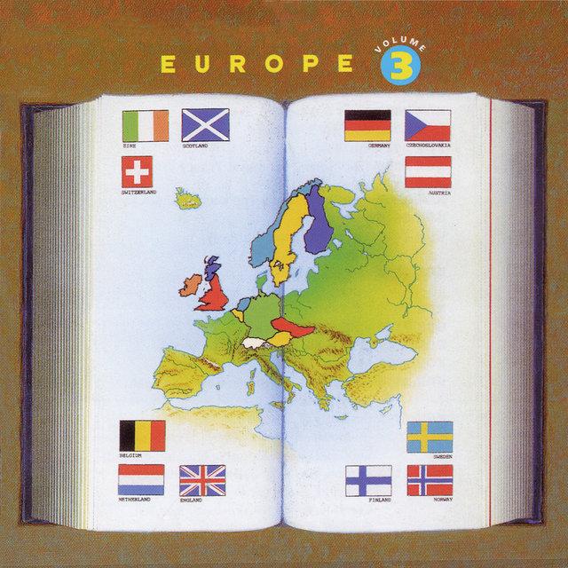 Europe, Vol. 3: Eire, Scotland, Switzerland, Belgium, Netherlands, England, Germany, Austria, Czechoslovakia, Finland, Sweden, Norway
