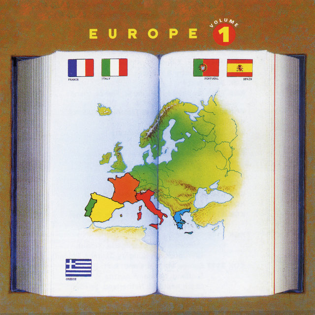 Europe Vol. 1: France, Italy, Portugal, Spain, Greece