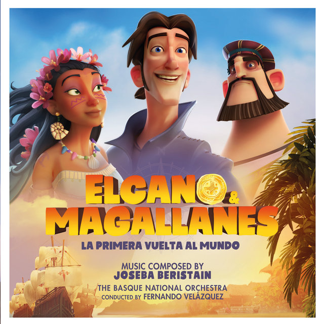 Couverture de Elcano & Magallanes: La primera vuelta al mundo (Original Soundtrack)