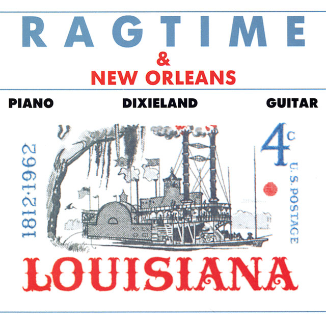 Ragtime & New Orleans: Piano, Dixieland, Guitar.