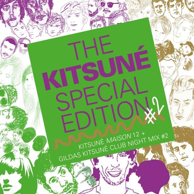 Couverture de The Kitsuné Special Edition #2 (Kitsuné Maison 12 + Gildas Kitsuné Club Night Mix #2)